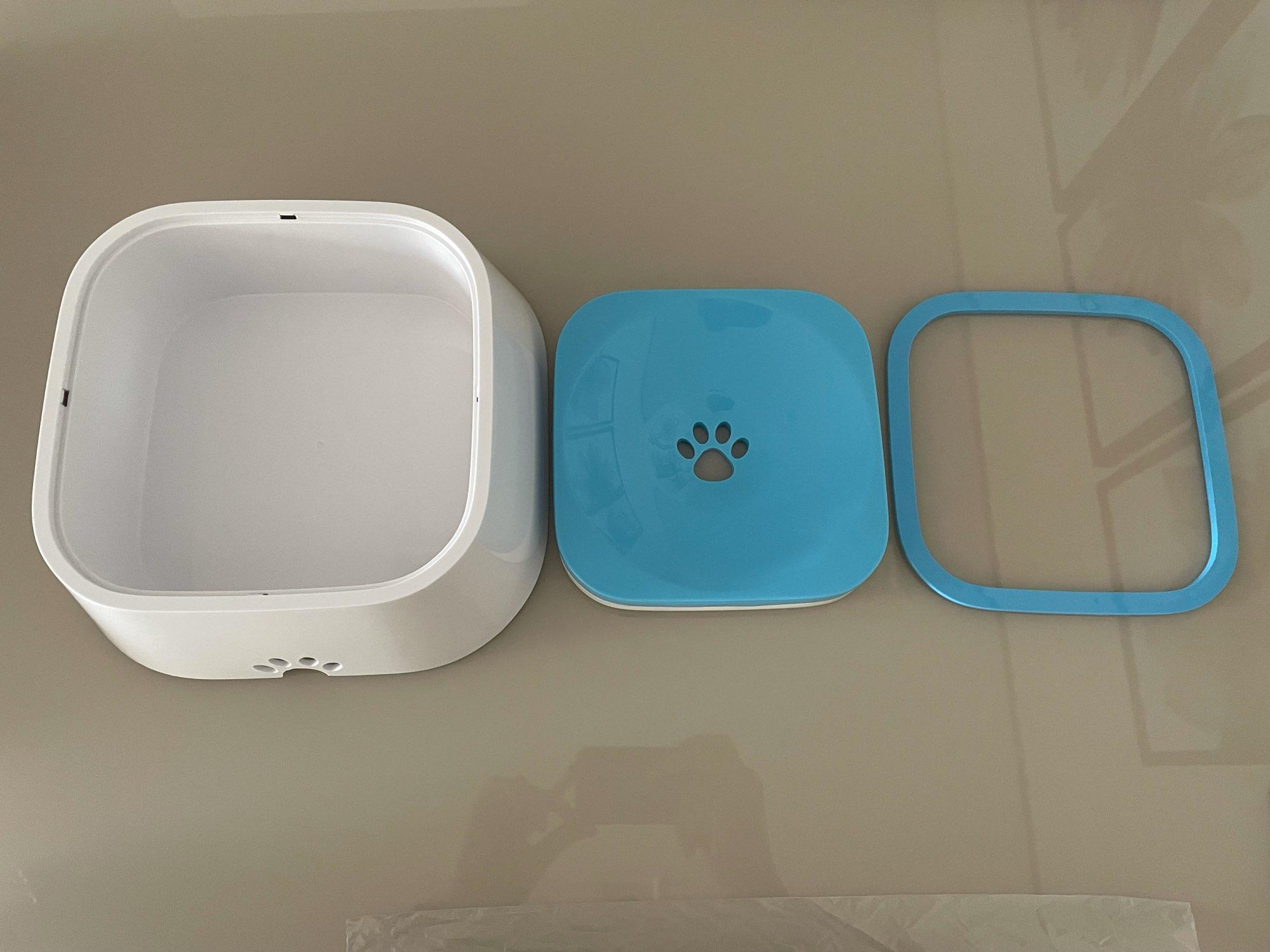 Dog Water Bowl Machine   Slow Water Feeder Dispenser Anti-Overflow photo review