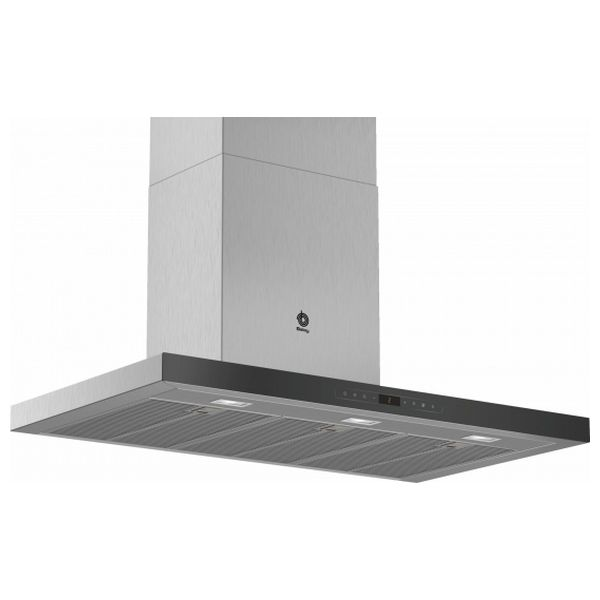 Conventional Hood Balay 3BC998HNC 90 Cm 843 M³/h 165W A+ Stainless Steel