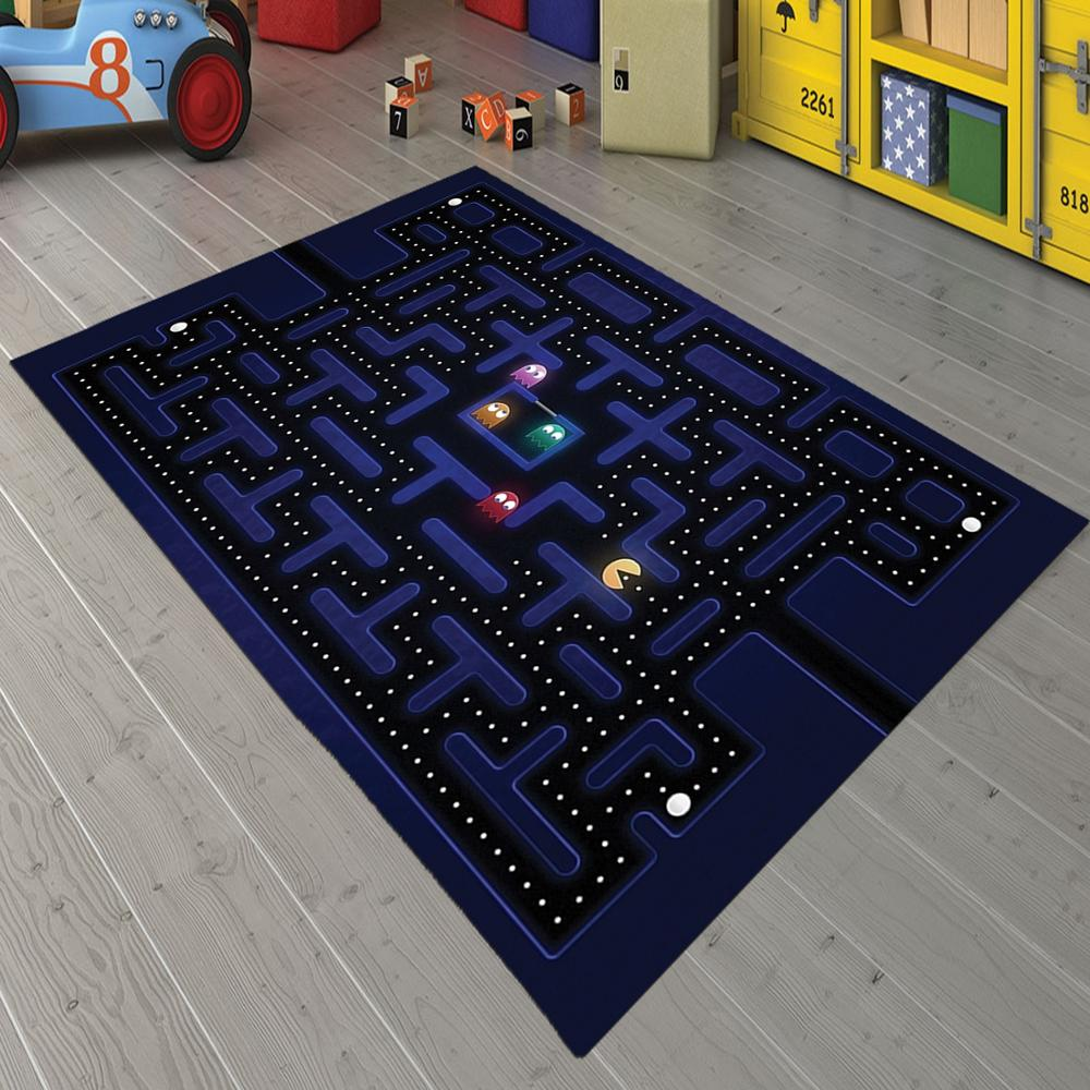 Pacman 2 Non Slip Floor Carpet, Teen's Carpet