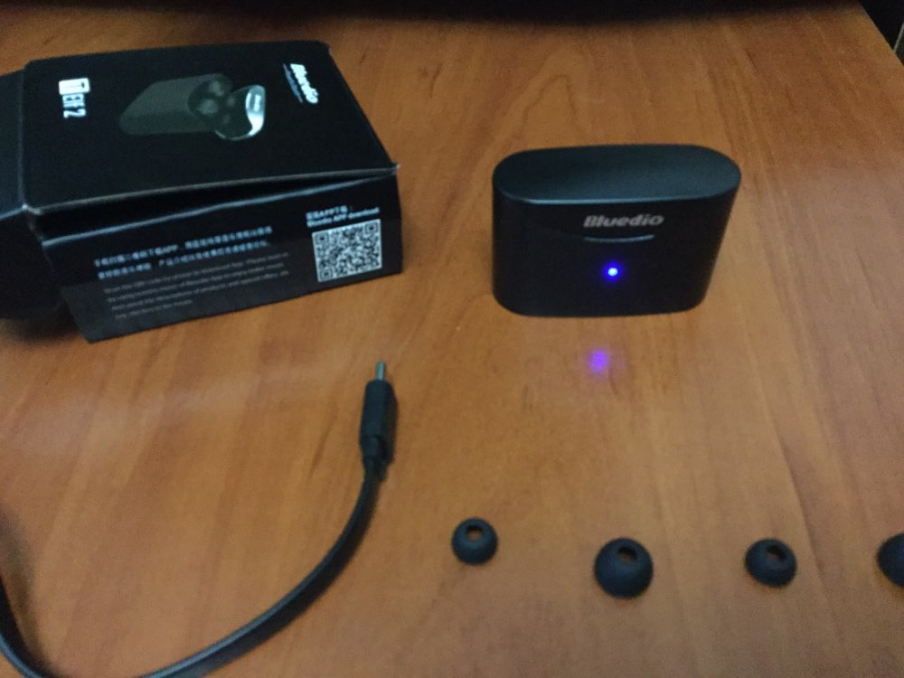 Bluedio T elf 2 Bluetooth earphone TWS wireless earbuds waterproof Sports Headset Wireless Earphone in ear with charging box-in Phone Earphones & Headphones from Consumer Electronics on AliExpress