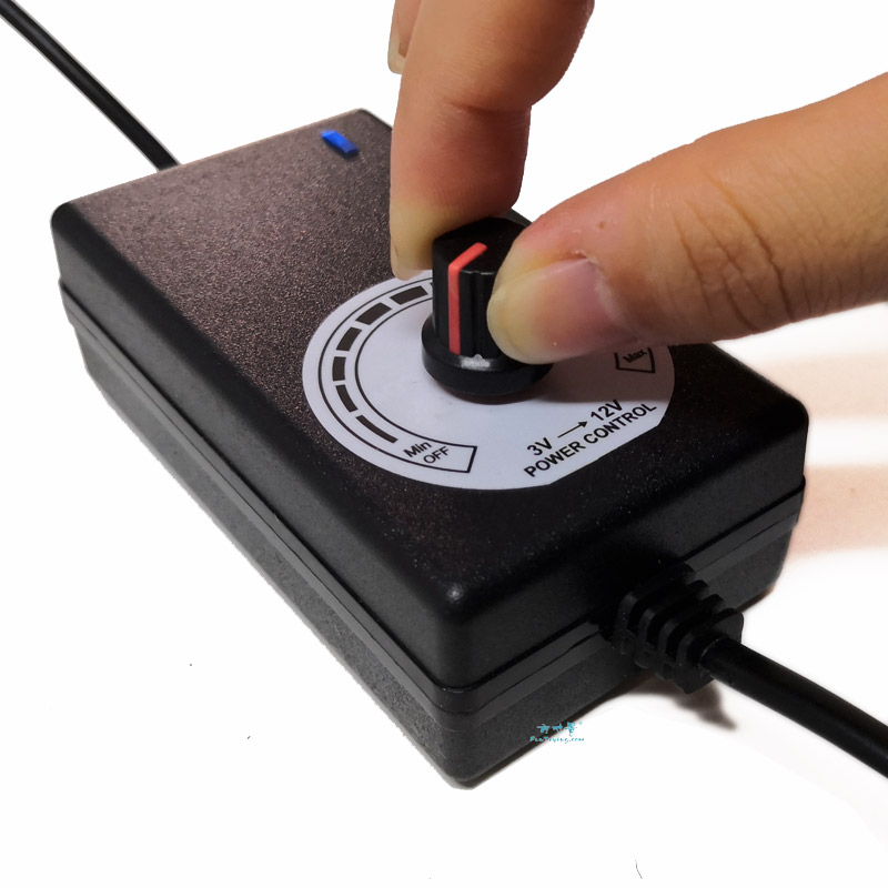 3-12V Changeable Power Supply, With 6 Output Ports./Railway Layout/Railroad Layout/Train Layout
