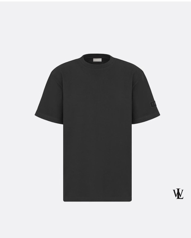 T Shirt Slim Fit Black T Shirt Men %100 Cotton Print New Session Luxury Wear