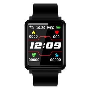 F1 inteligentny zegarek mężczyźni opaska monitorująca aktywność fizyczną ciśnienie krwi tlen krwi serce rekord krokomierz bransoletka fitness dla kobiety mężczyźni PK B57 Q9