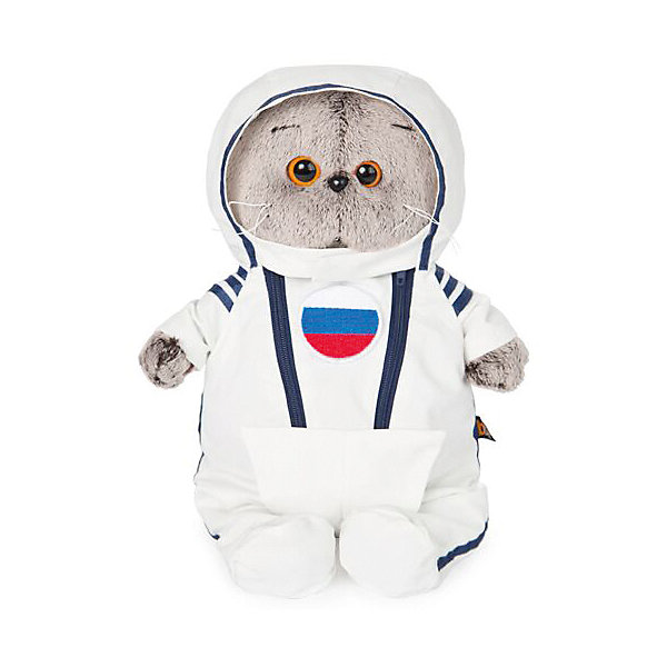 Soft Toy Budi Basa Cat Basik Suit Astronaut, 25 Cm