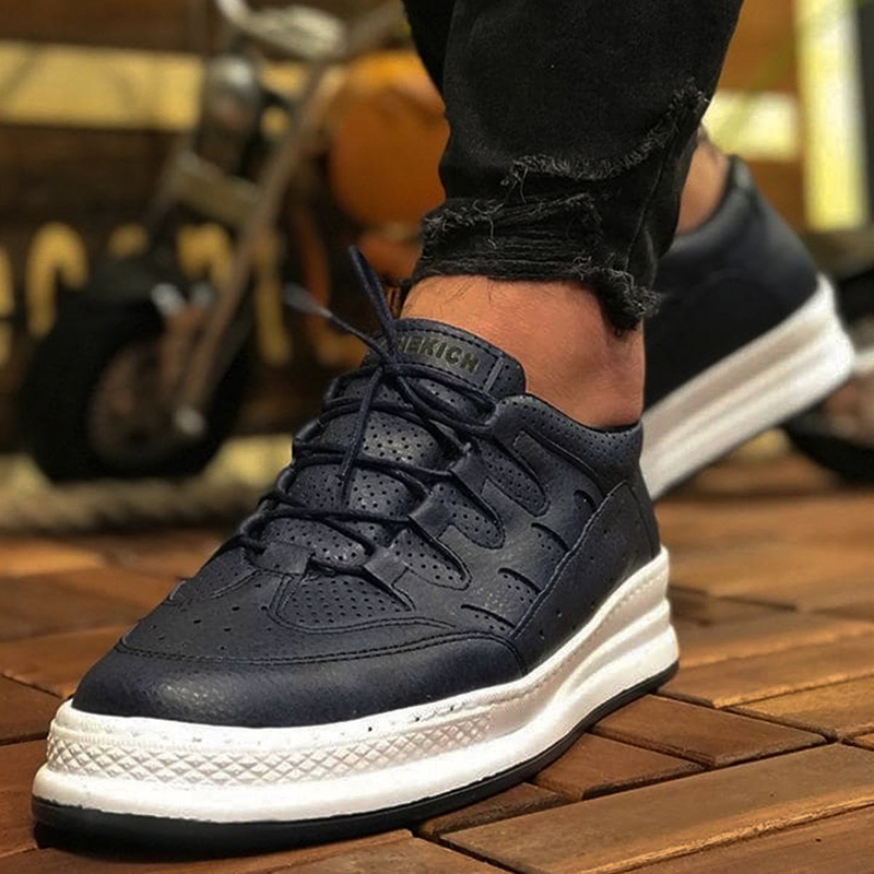 Chekich Sneakers For Men Sneakers Casual Comfortable Flexible Fashion Leather Wedding Orthopedic Walking Shoe Sport Shoes For Men Women Unisex Comfort Lightweight Sneakers Running Shoes Breathable Zapatos Hombre CH040