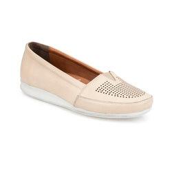 FLO 91.100690.Z бежевые женские туфли Polaris 5 Point