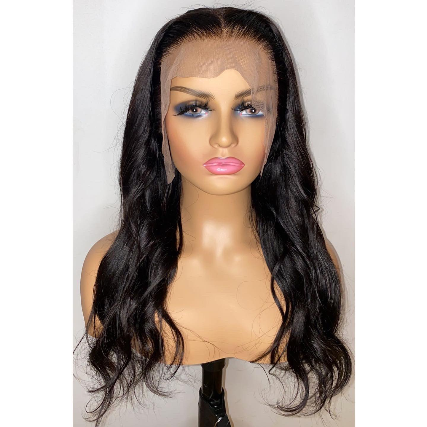 Lace Front Human Hair Wigs Body Wave Deep Closure Wig 28 Inch Remy Brazilian photo review