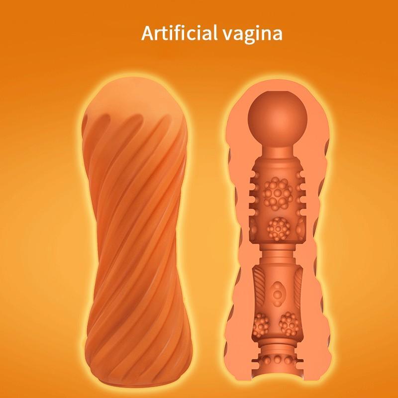 Masturbator Cup Artificial Oral Vagina Real Tight Pussy Sex Tools For Men Masturbator Masculino Blowjob Silicone Adult Toy