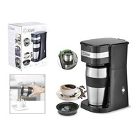 Electric Coffee maker Kiwi KCM 7505 420 ml 750W Black|Coffee Machines|   -