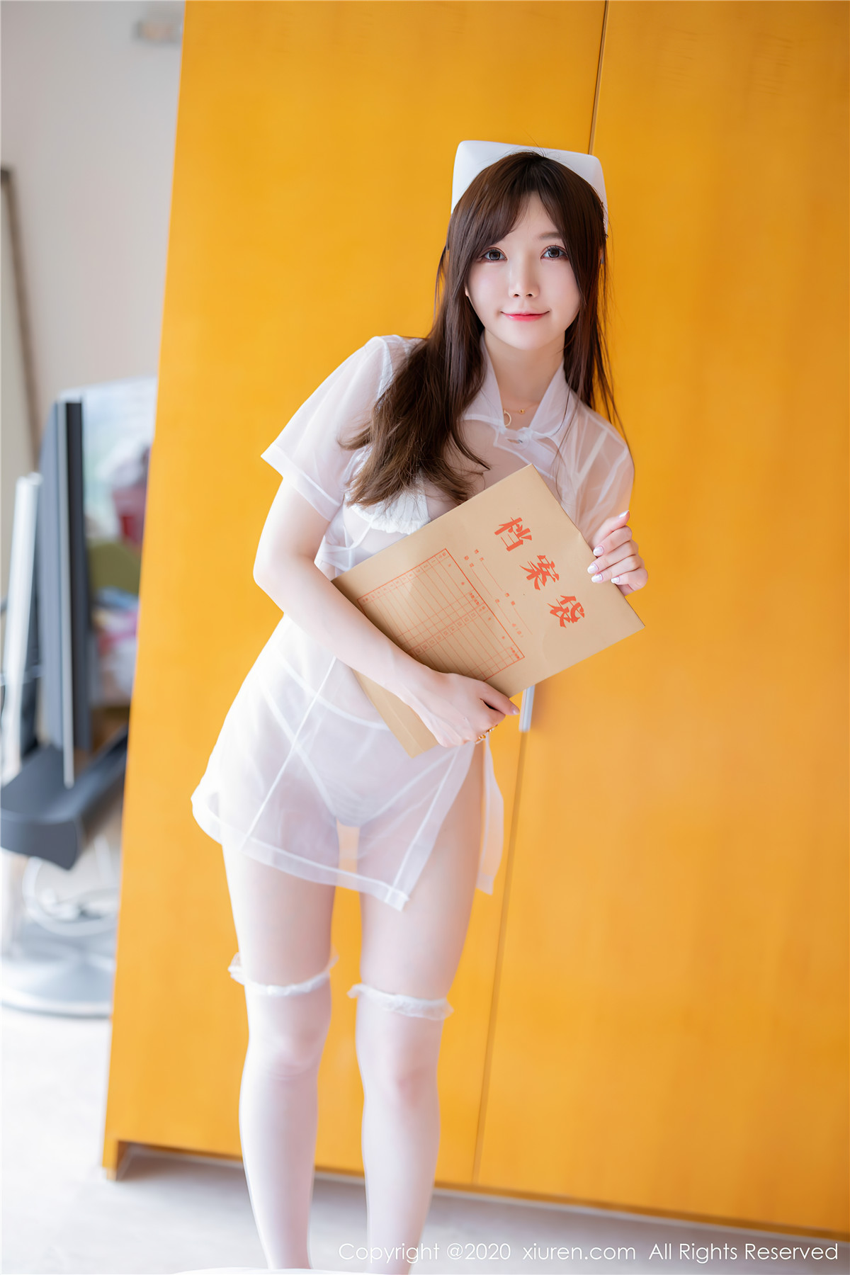 糯美子MiniBabe – 可爱与性感完美结合的写真女神插图1