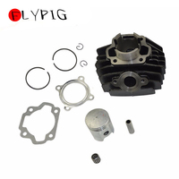 47mm Cylinder Block Gasket Piston Ring Needle Kit For YAMAHA PW80 PY80 PW PY 80 PEEWEE Motorcycle Dirt Pit Bike Scooter Part