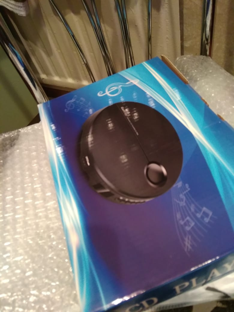 Portable CD Player photo review