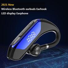 Le plus nouveau casque Bluetooth Bluetooth 5.0 écouteur mains libres casque LED affichage 9D stéréo sans fil écouteur pour Smartphone