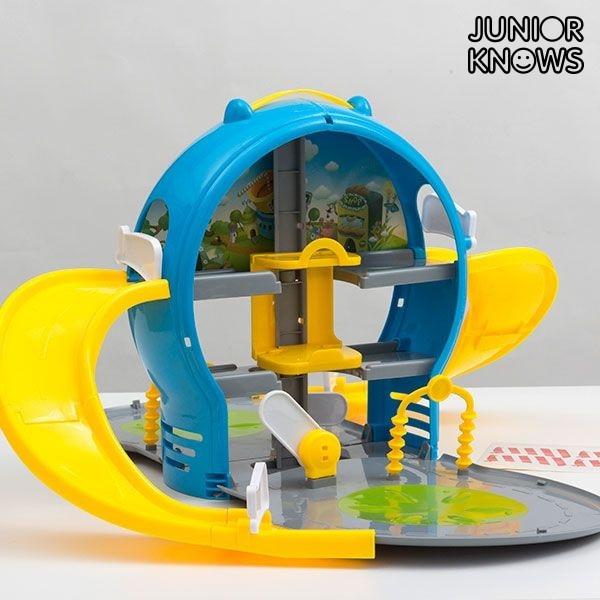 Children's Car Park With Case
