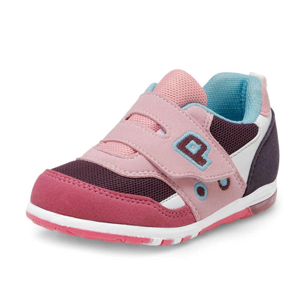 FLO PABLO Purple Female Child Sneaker Shoes Balloon-s