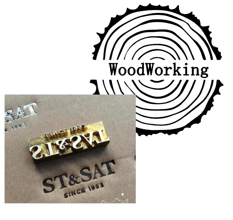 Custom Branding Iron For Woodworking / Wedding Wood Branding Iron Stamp / Steak Brand Iron / Handcrafrs Gift For Woodworkers