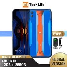 グローバルバージョン xiaomi ブラックサメ 2 プロ 256 ギガバイト rom 12 1gb の ram ゲーム電話 (真新しい/密封された) blackshark スマートフォン携帯