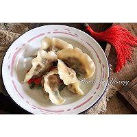 老福州风味//笋干猪肉饺(附笋干泡发的方法)的做法图解12