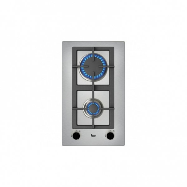 Gas Hob Teka EFX30.1 2G 30 cm Stainless steel (2 Stoves)|Cooktops| |  - title=