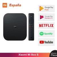 Xiaomi Mi TV Box S Original Versión TV Mi S 4K Ultra HD Android TV 9 0 HDR 2G 8G WiFi Google Cast Netflix TV Mi Caja Box S