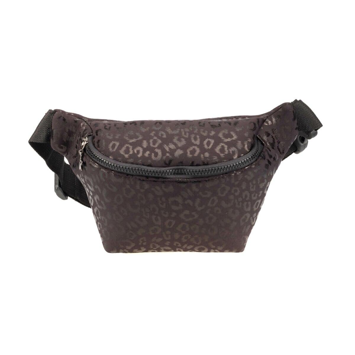 FLO WWDRN1600 Black Women Waist Bag BUTIGO