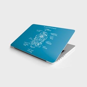 Sticker Master R2-D2 Star Wars S Universal Sticker Laptop Vinyl Sticker Skin Cover For 10 12 13 14 15.4 15.6 16 17 19