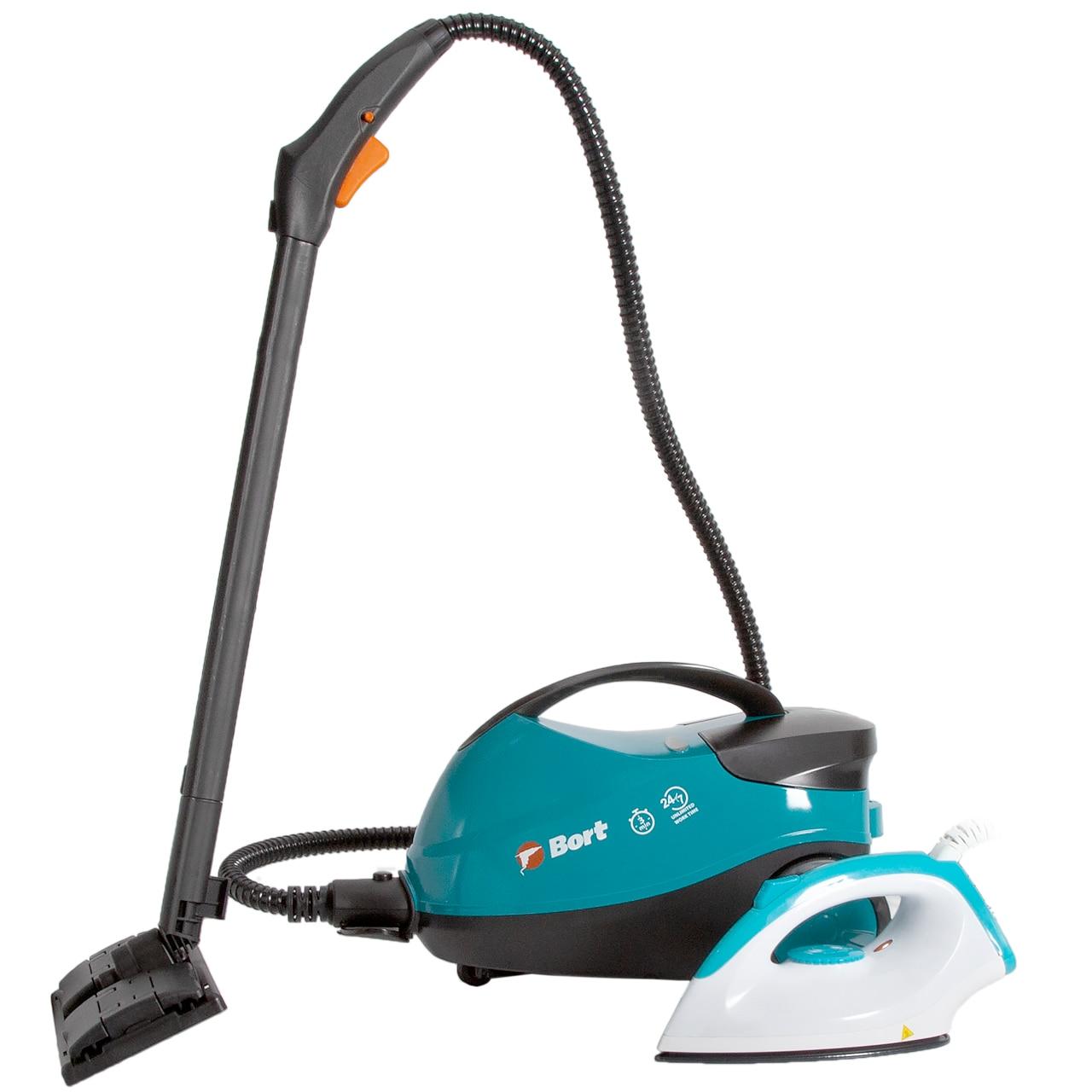 Пароочиститель Bort BDR 2500 RR Iron (Мощность 2300Вт, давление до 4 бар, утюг в комплекте)|Пароочистители|   | АлиЭкспресс