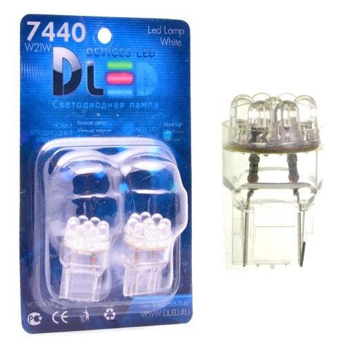 1pcs LED Car Lamp W21W - T20 - 7440 - W3x16d - 9 - Dip-Led