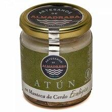 250 grams certified organic butter tuna Ventresca jar | Almadraba craftsmen | Sustainable gourmet preserves