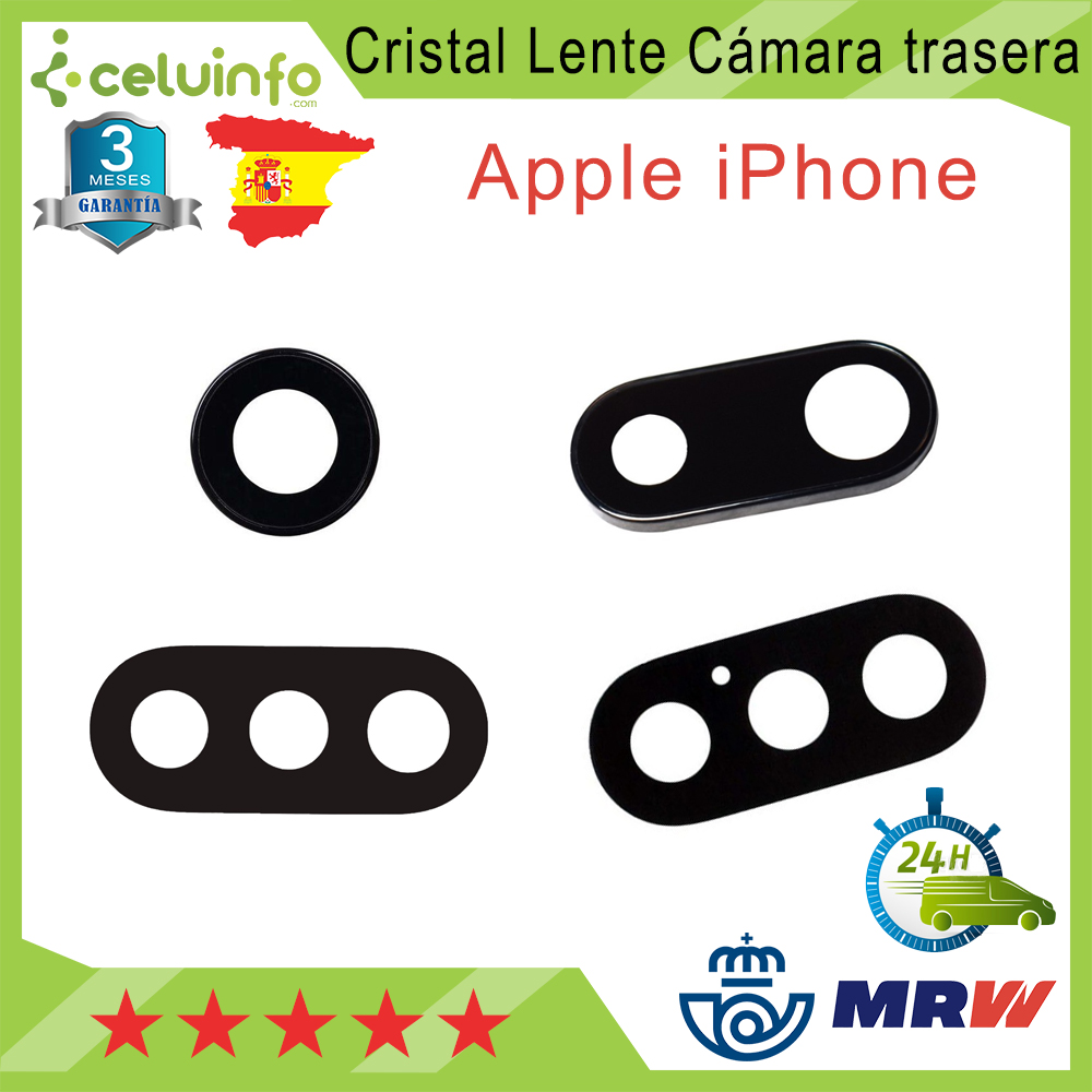 Tailgate Camera Lens Glass For Apple IPhone 7/iPhone 7 Plus/iPhone X/iPhone XS Max Shipping From Spain