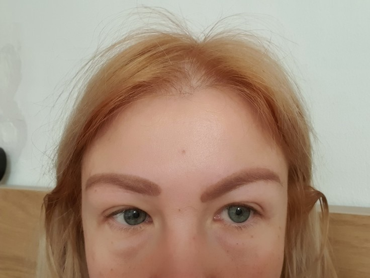 Natural Arched Eyebrow Stamp Quick Makeup Brow Stamps photo review