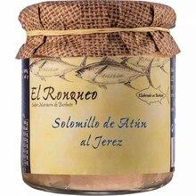 Jerez tuna tenderloin jar with olive oil 250 grams | Fish preserves El Ronqueo | gourmet preserves