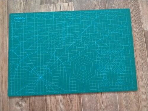 Adjustable Manual Cutting Mat photo review