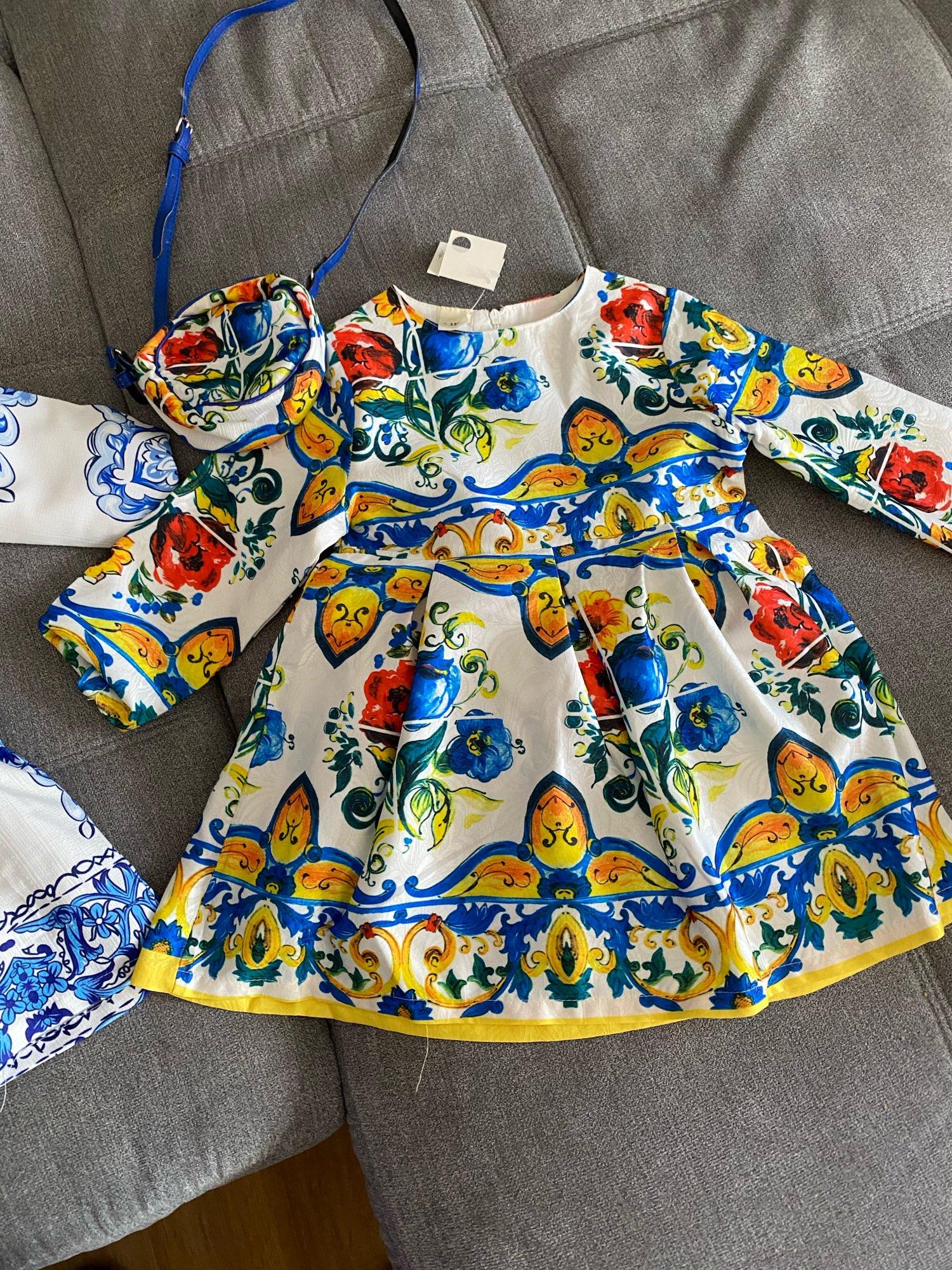 Princess Girls Dress Long Sleeve 2019 Autumn Brand Children Christmas Dress with Bag Printed Kids Dresses for Girls Clothing|princess girl dress|girl dress longbrand girl dress - AliExpress