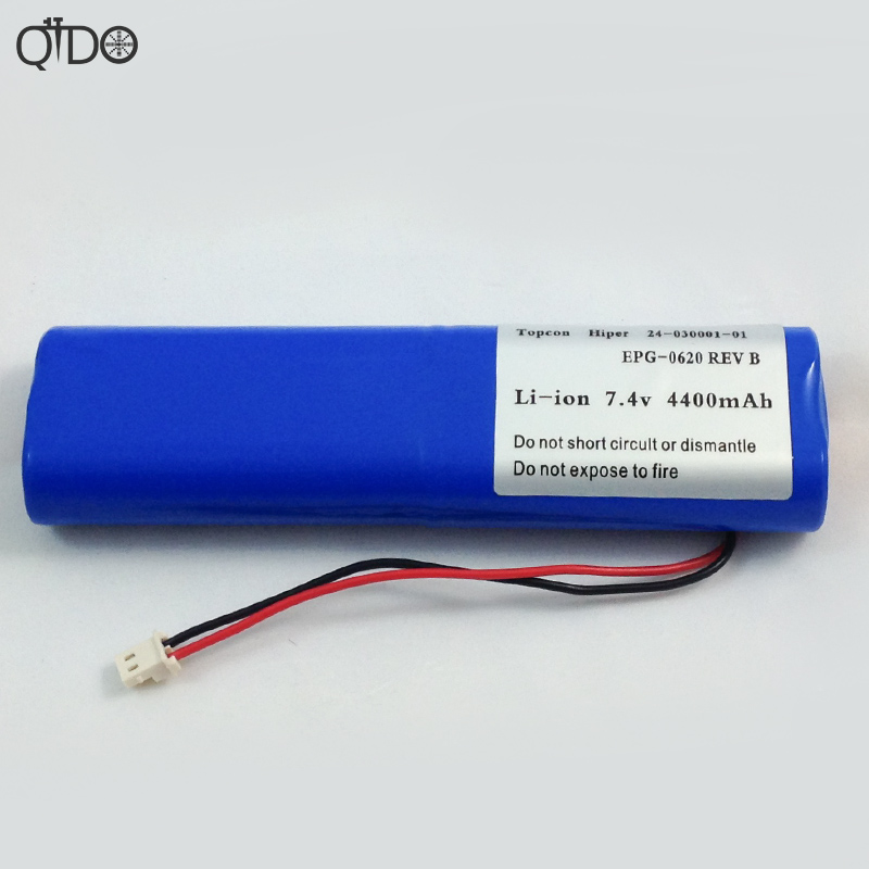 NEW Hiper Li-ion <font><b>Battery</b></font> 24-030001-01 For Topcon GPS <font><b>7.4V</b></font> <font><b>4400mAH</b></font> image