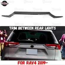Накладка между задними фарами для Toyota RAV 4-ABS пластик молдинг 1 комплект/1 шт украшение автомобиля Стайлинг