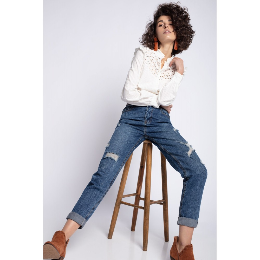 JEAN HARMONIES SLOUCHY RIPPED