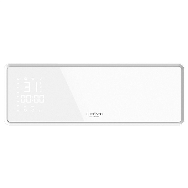 Electric Ceramic Heater Cecotec Ready Warm 5300 Power Box 2000W LED