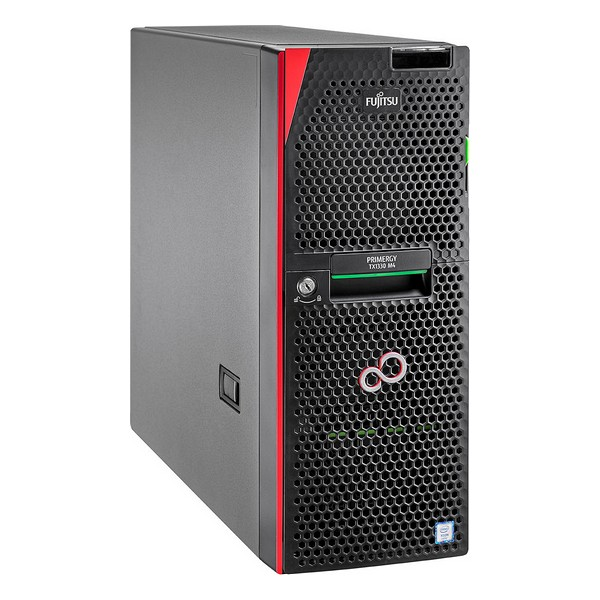 Server Tower Fujitsu TX1330M4 Xeon® E-2124 16 GB RAM LAN Black