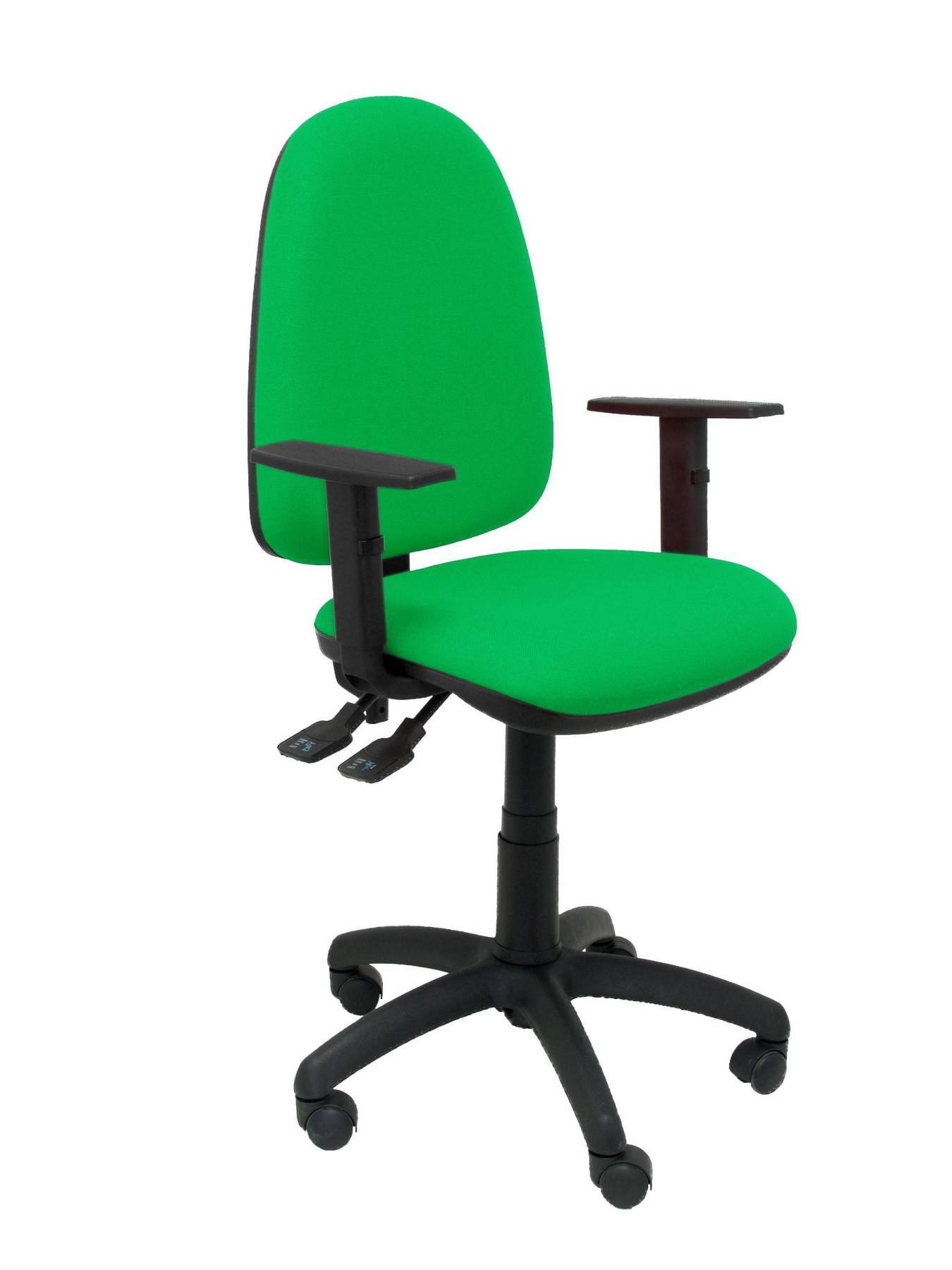 Chair's Office With Permanent Contact's House Mechanism Double Handle And Dimmable In High Altitude-up Seat And Backstop Tapizad