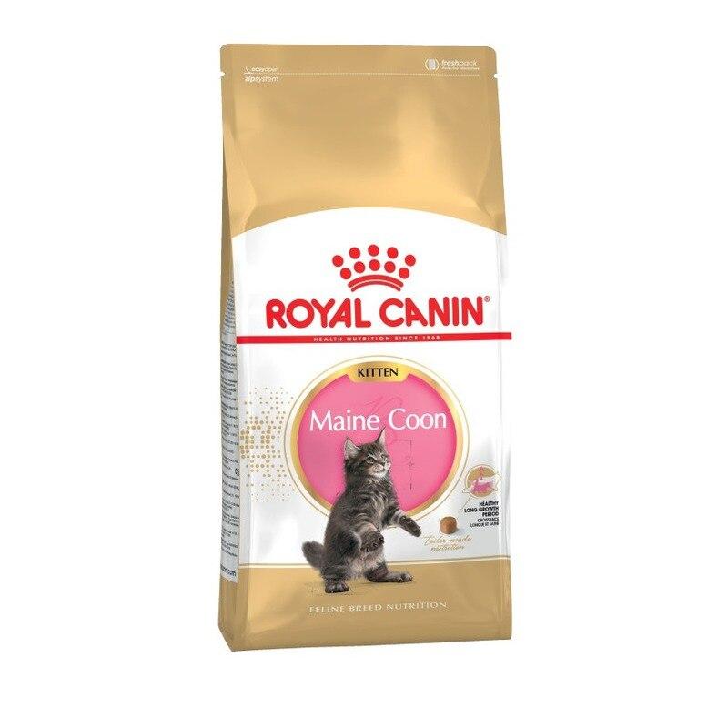 Royal Canin Maine Coon Kitten для котят породы мейн-кун, Cat Food, For Cats, 10 кг