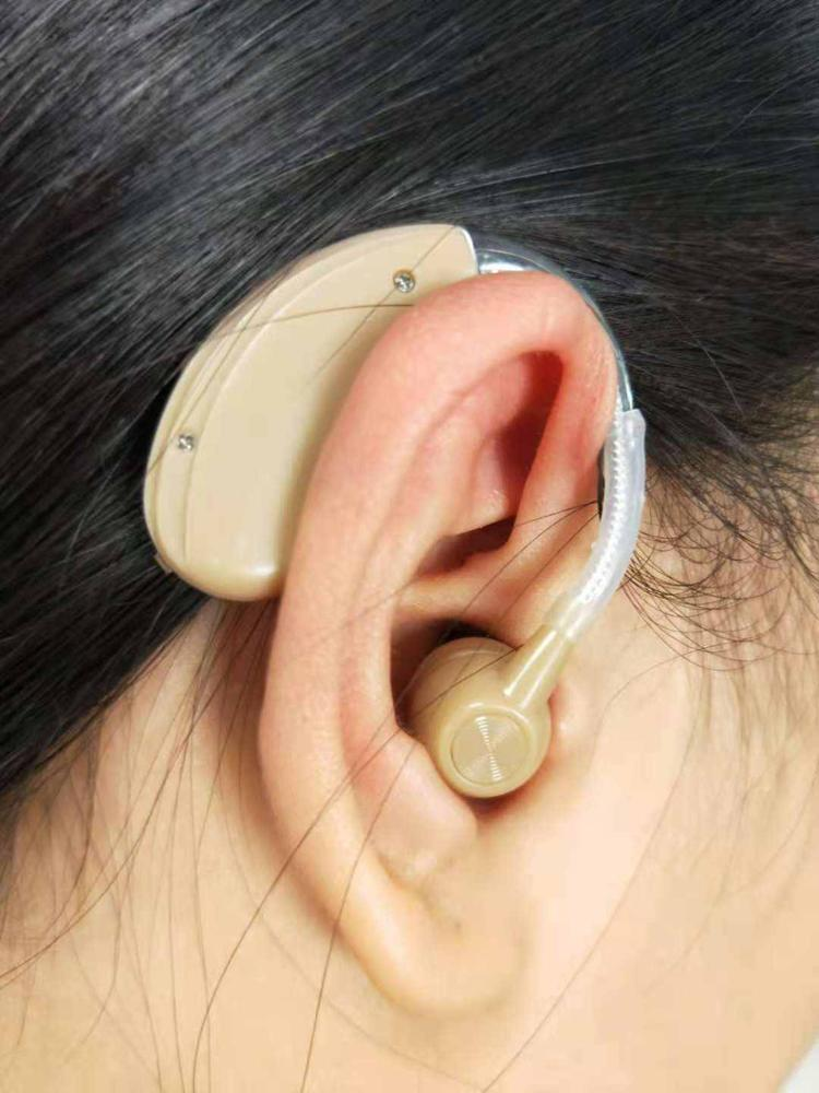 JH-338 BTE Rechargeable Hearing Aid with USB 5V charge base photo review