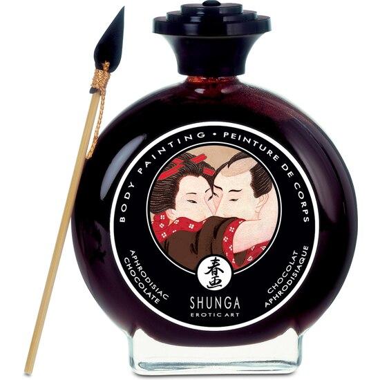 SHUNGA Shunga Chocolate Body Paint DISCREET SHIPPING Material Antibacteirano