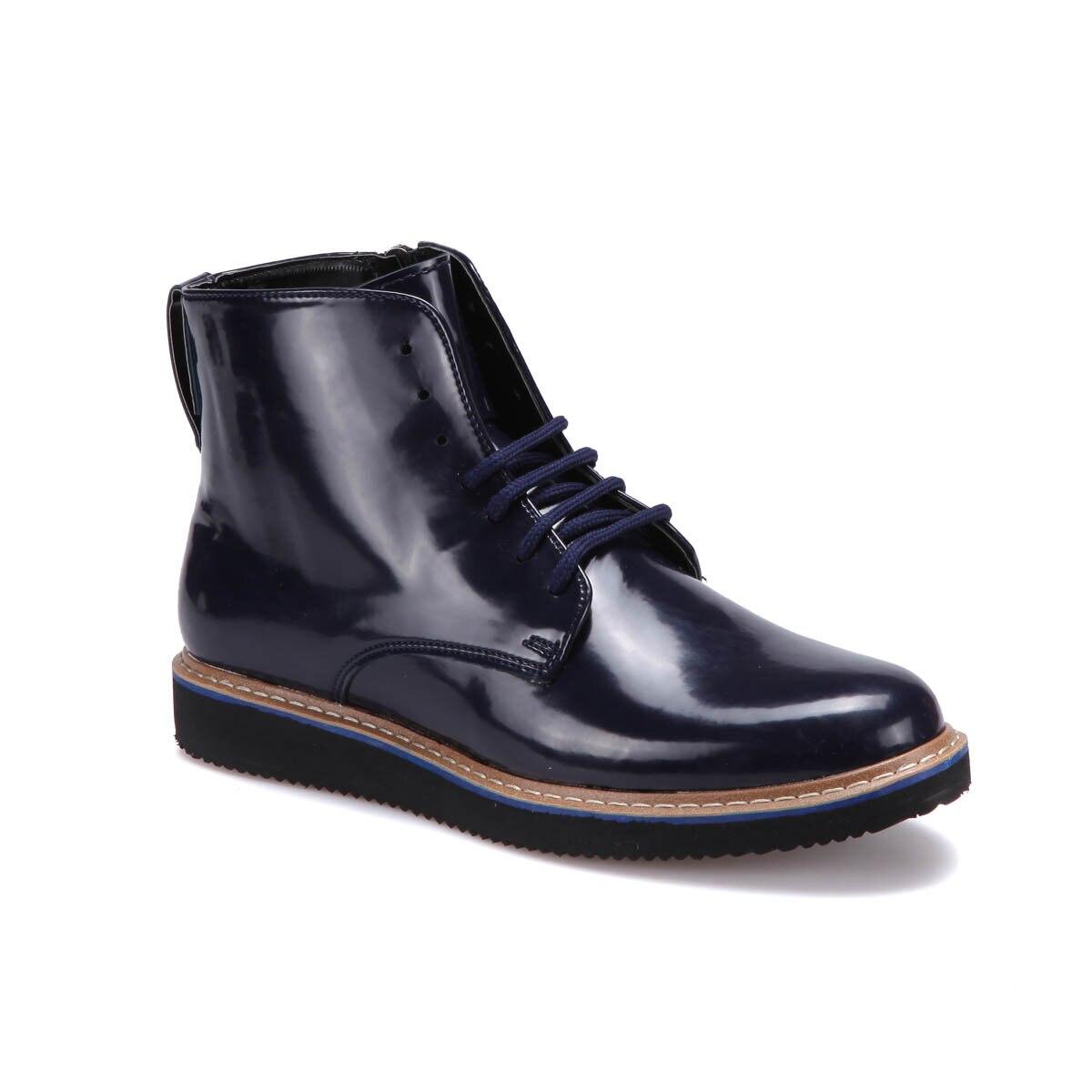 FLO 5815 M 6686 Navy Blue Men 'S Boots JJ-Stiller