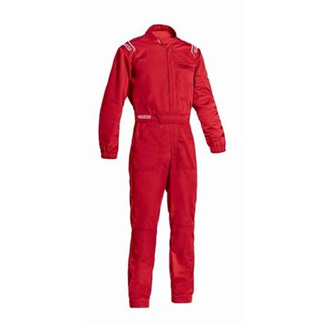 S002015RS3L-Dungarees Ms-3 Red Size L Sparco