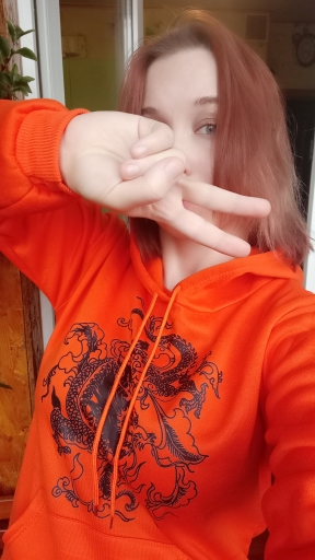 Dragon Element Print Harajuku hoodie photo review