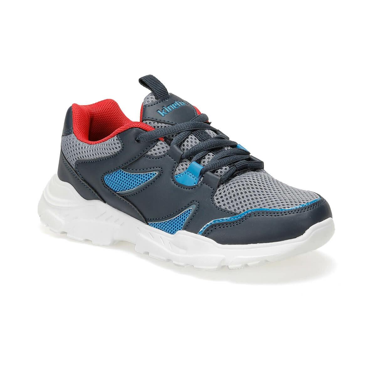 FLO SANDRA 9PR Navy Blue Male Child Hiking Shoes KINETIX