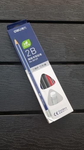 Lápis padrão papelaria papelaria borracha