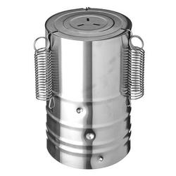 Prensa de jamón VETTA, carne de acero inoxidable D11X17SM para hacer carne, herramienta de prensa de forma redonda 822-021