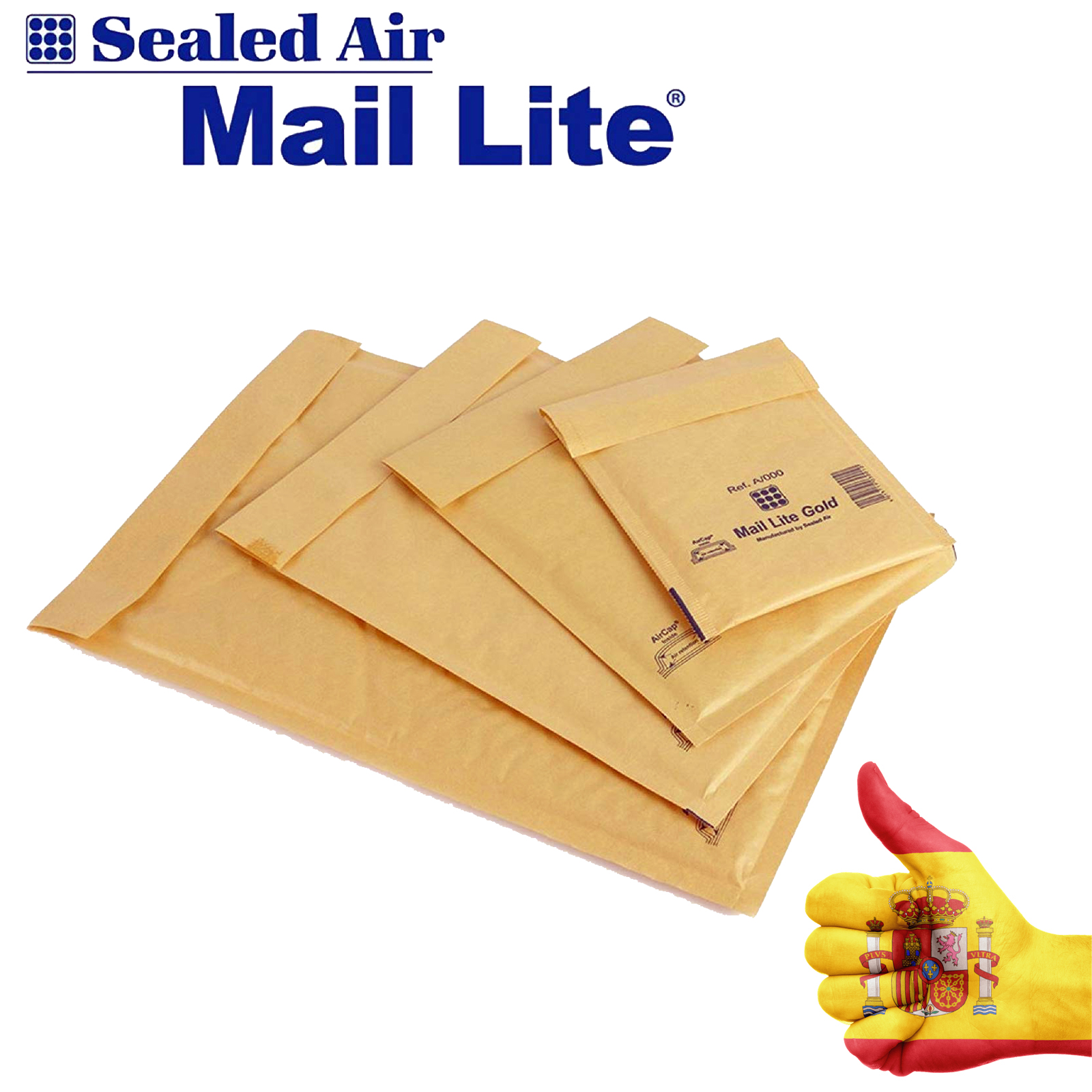 MailLite®BOX 100 ENVELOPE QUILTING MARRON Bubble Lined Paper Bags Mail Envelope Bag Kraft Bag CHOOSE YOUR MEASURE